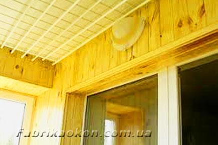 Электричество на балконе - разводка, монтаж от фабрике окон..